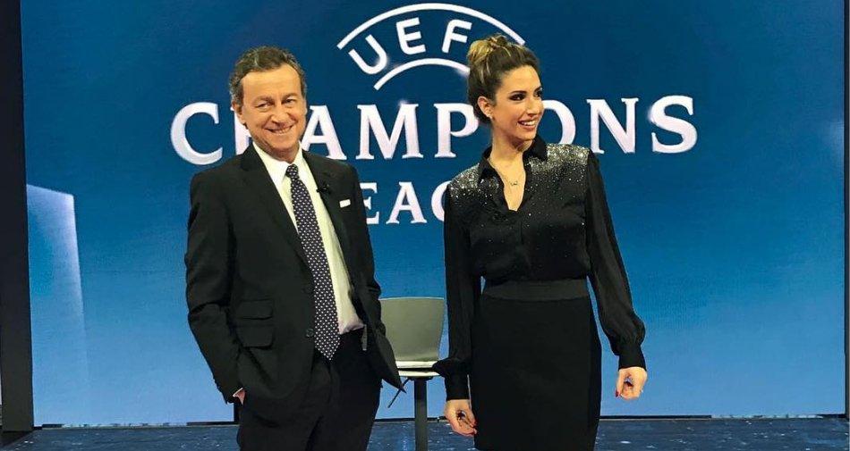 Premium Sport, Champions Diretta Ottavi Andata #1 - Palinsesto e Telecronisti Mediaset