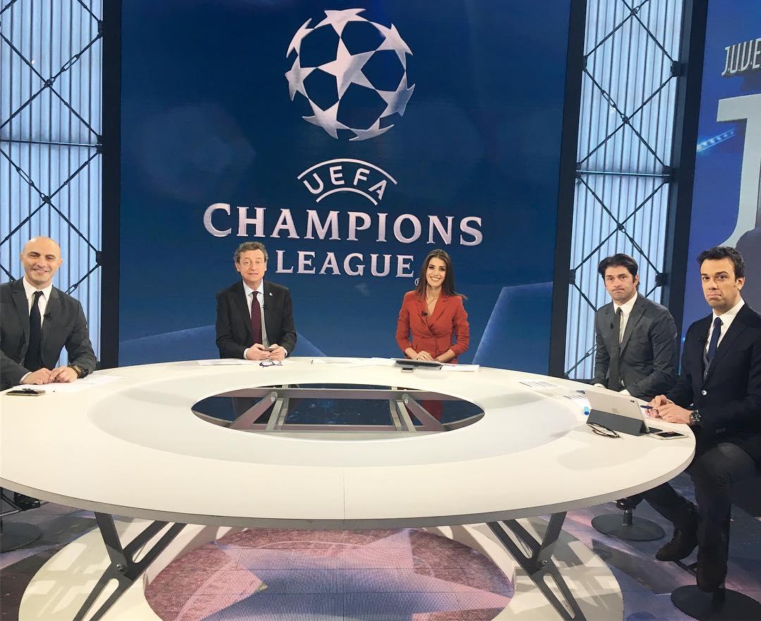 Premium Champions Ottavi Andata #1 - Palinsesto e Telecronisti Sport Mediaset