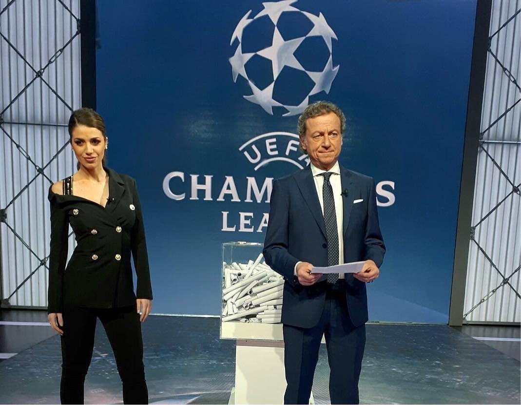 Premium Champions Ottavi Ritorno #1 - Palinsesto e Telecronisti Sport Mediaset