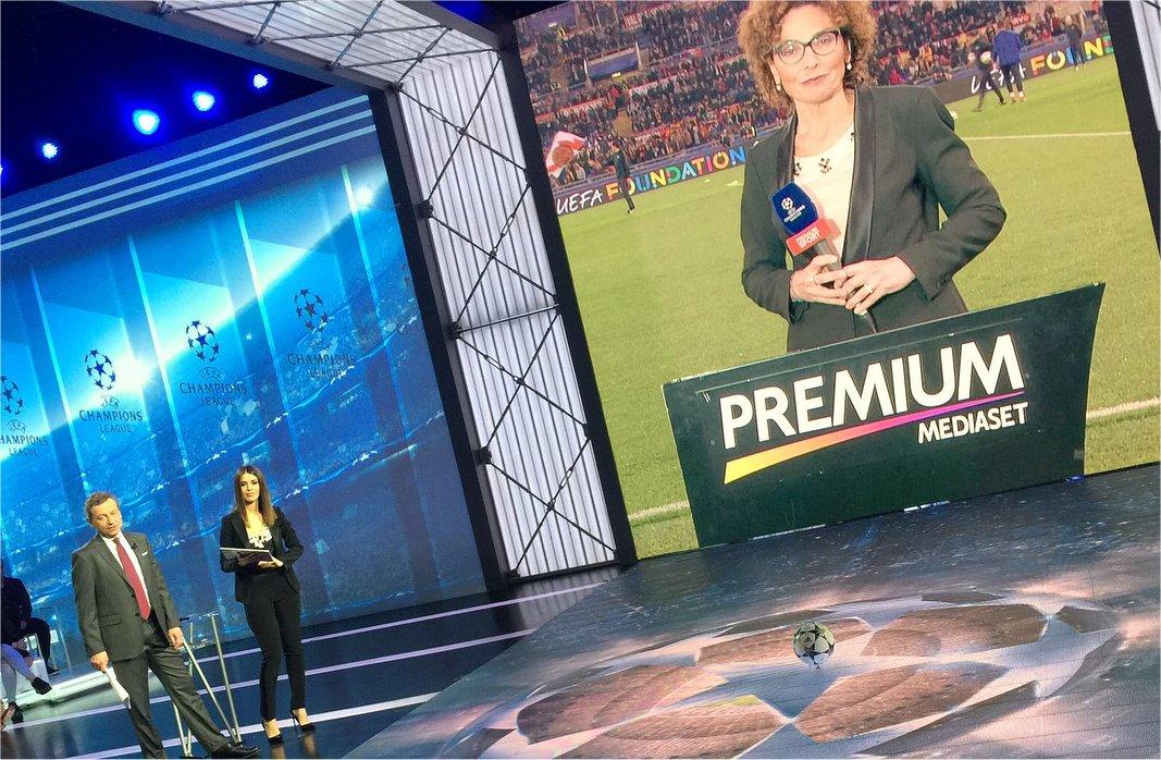 Premium Champions Semifinali Andata - Palinsesto e Telecronisti Sport Mediaset