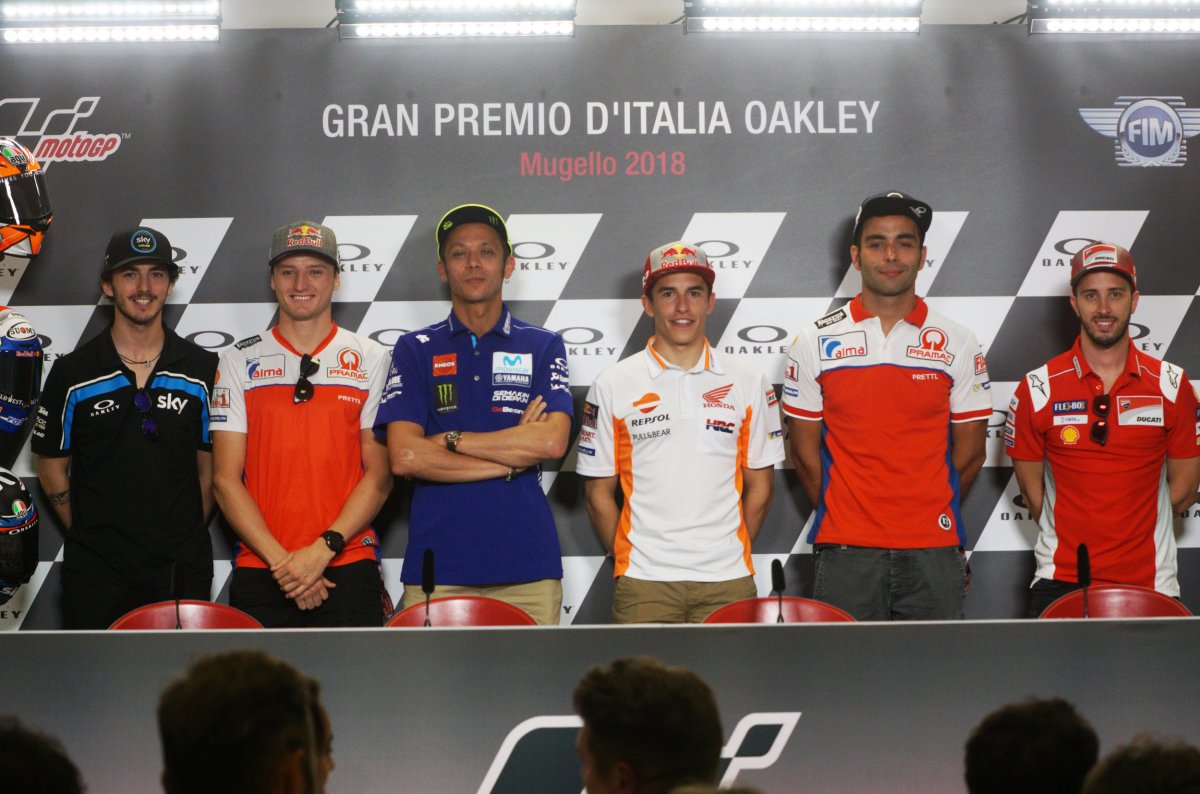 Sky Sport MotoGP HD Gp Italia Diretta (31 Maggio - 3 Giugno 2018) [anche su TV8]