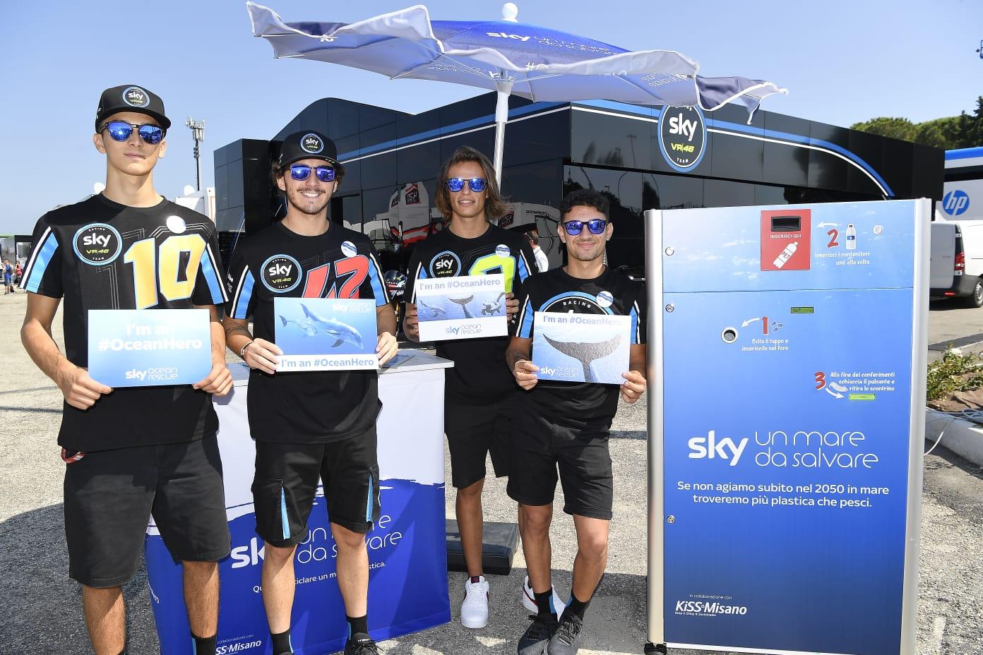 Sky Sport MotoGP HD, Diretta Gp San Marino (6 - 9 Settembre 2018). In chiaro su TV8