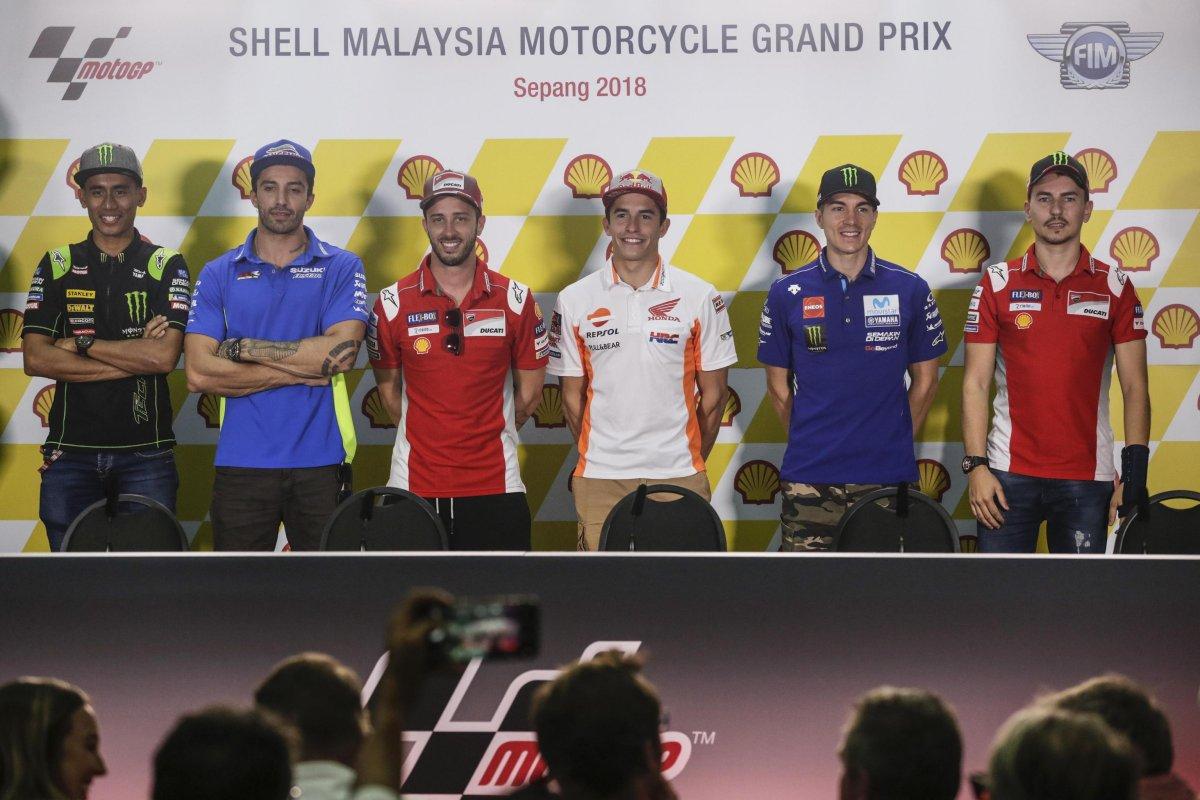 Sky Sport MotoGP HD, Diretta Gp Malesia (1 - 4 Novembre). In chiaro differita TV8