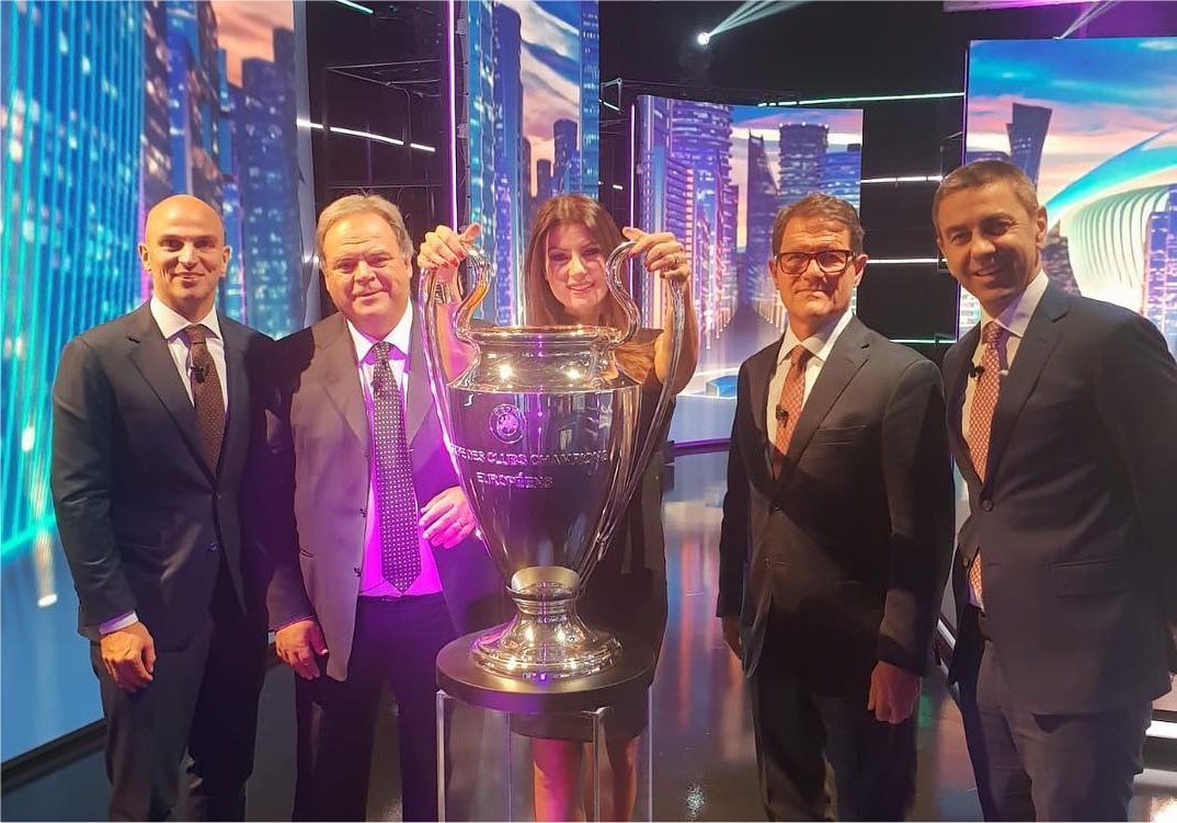 Sky Sport Champions 4a Giornata, Diretta Esclusiva | Palinsesto e Telecronisti