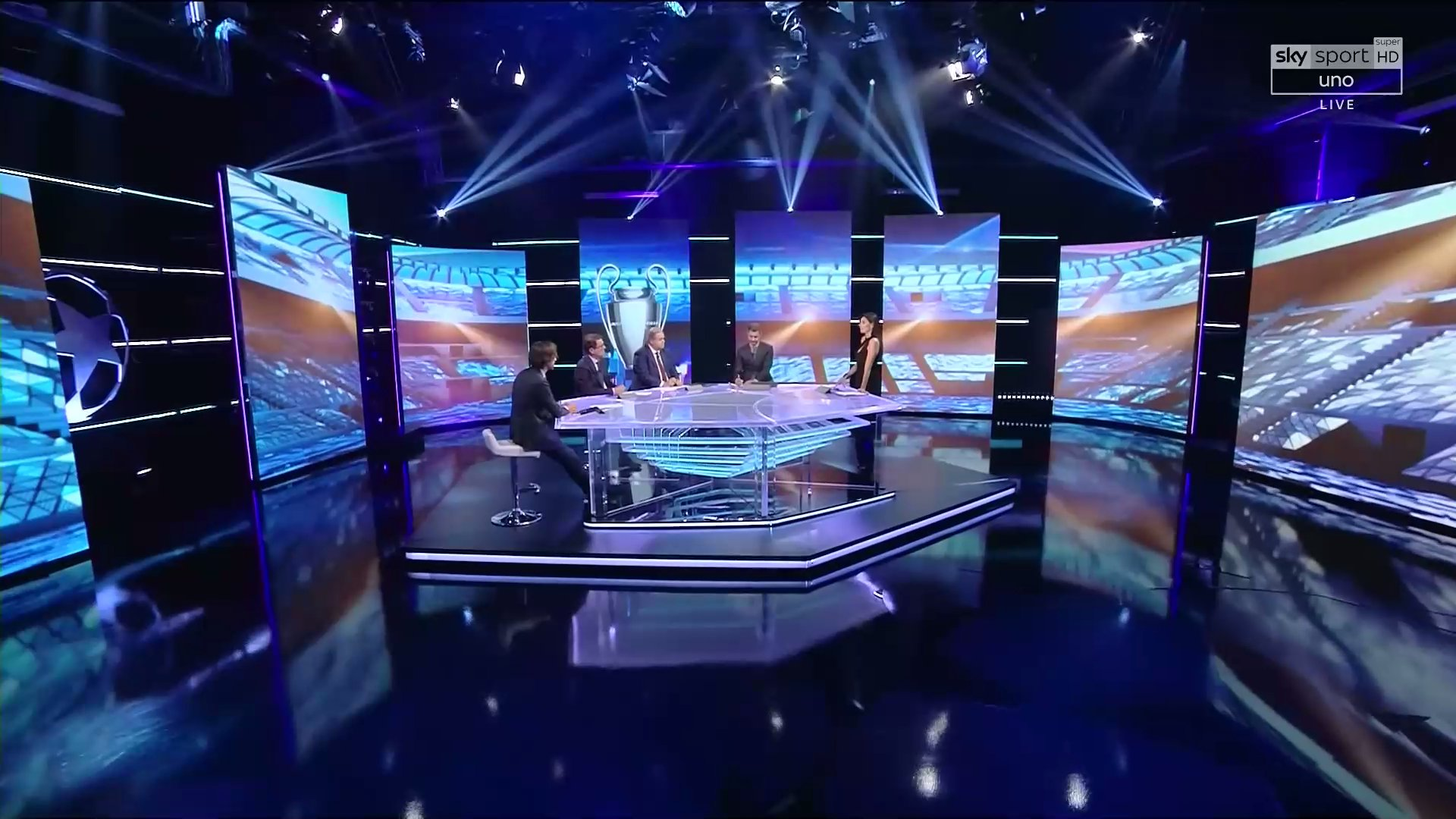 Sky Sport Champions Semifinali Ritorno (diretta) | Palinsesto e Telecronisti