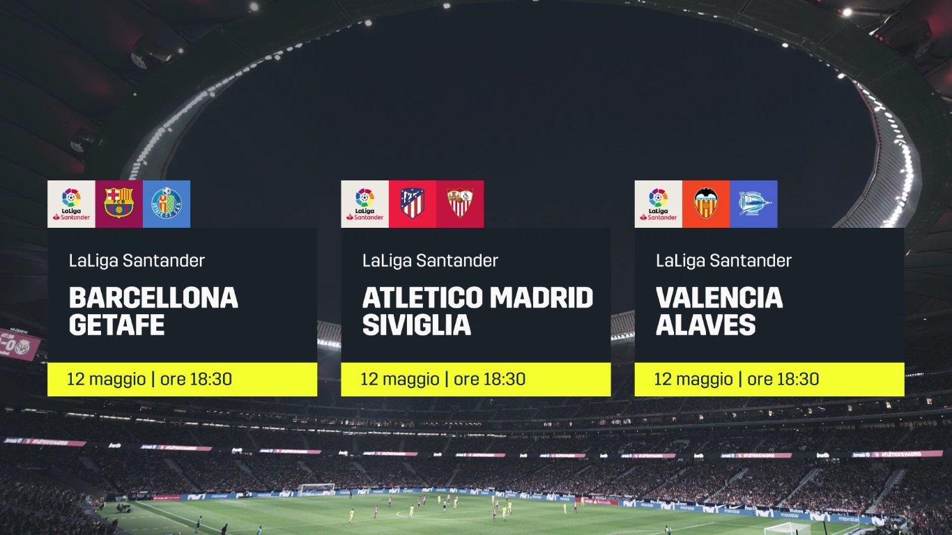 Calcio Estero DAZN - Programma e Telecronisti dal 10 al 13 Maggio