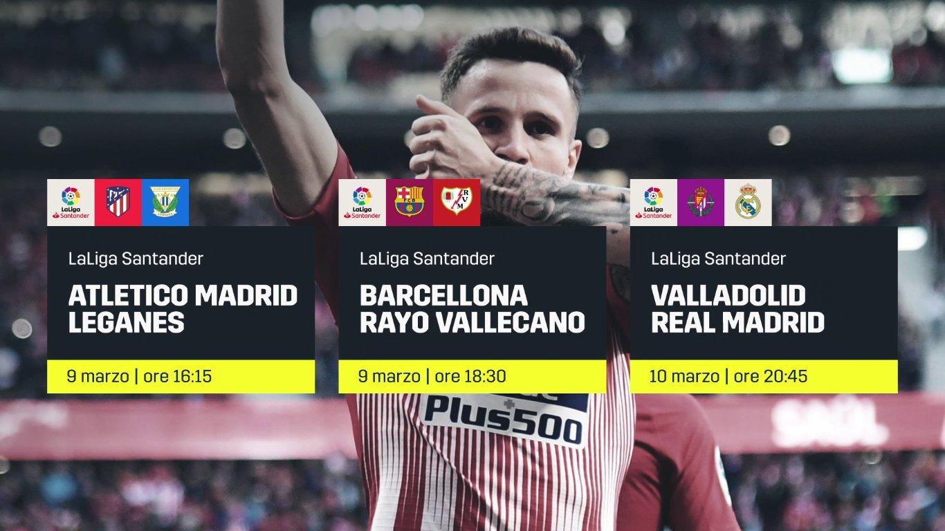 Calcio Estero DAZN - Programma e Telecronisti 8 - 11 Marzo