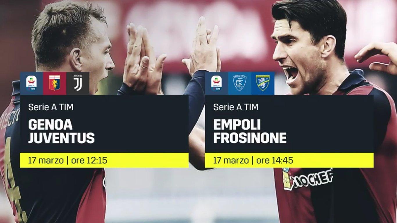 DAZN, Serie A 28a Giornata, Diretta Esclusiva, Palinsesto e Telecronisti
