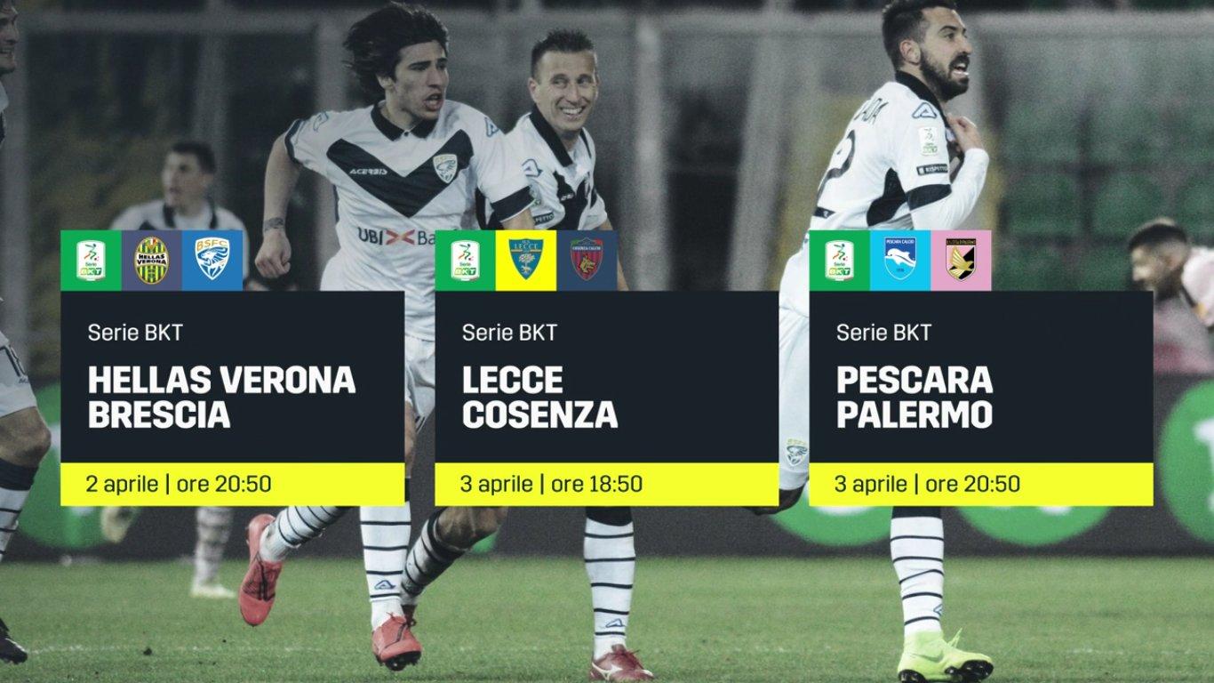 DAZN Serie B 31a Giornata - Diretta Esclusiva | Palinsesto e Telecronisti