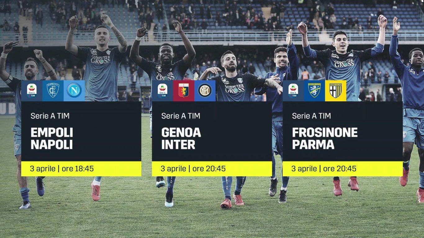 DAZN, Serie A 30a Giornata, Diretta Esclusiva, Palinsesto e Telecronisti