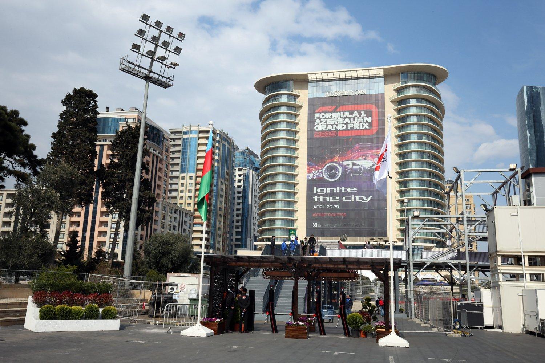Sky Sport F1, Diretta Esclusiva Gp Azerbaijan (25 - 28 Aprile). In chiaro differita TV8