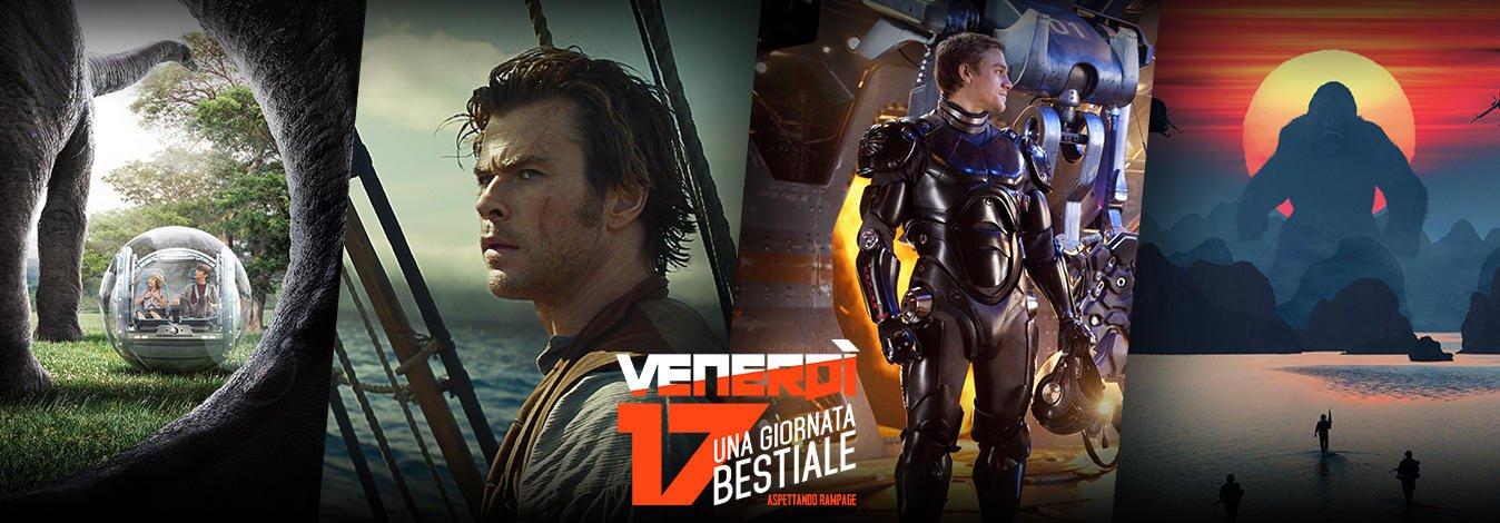 Venerdi 17 Maggio sui canali Sky Cinema HD