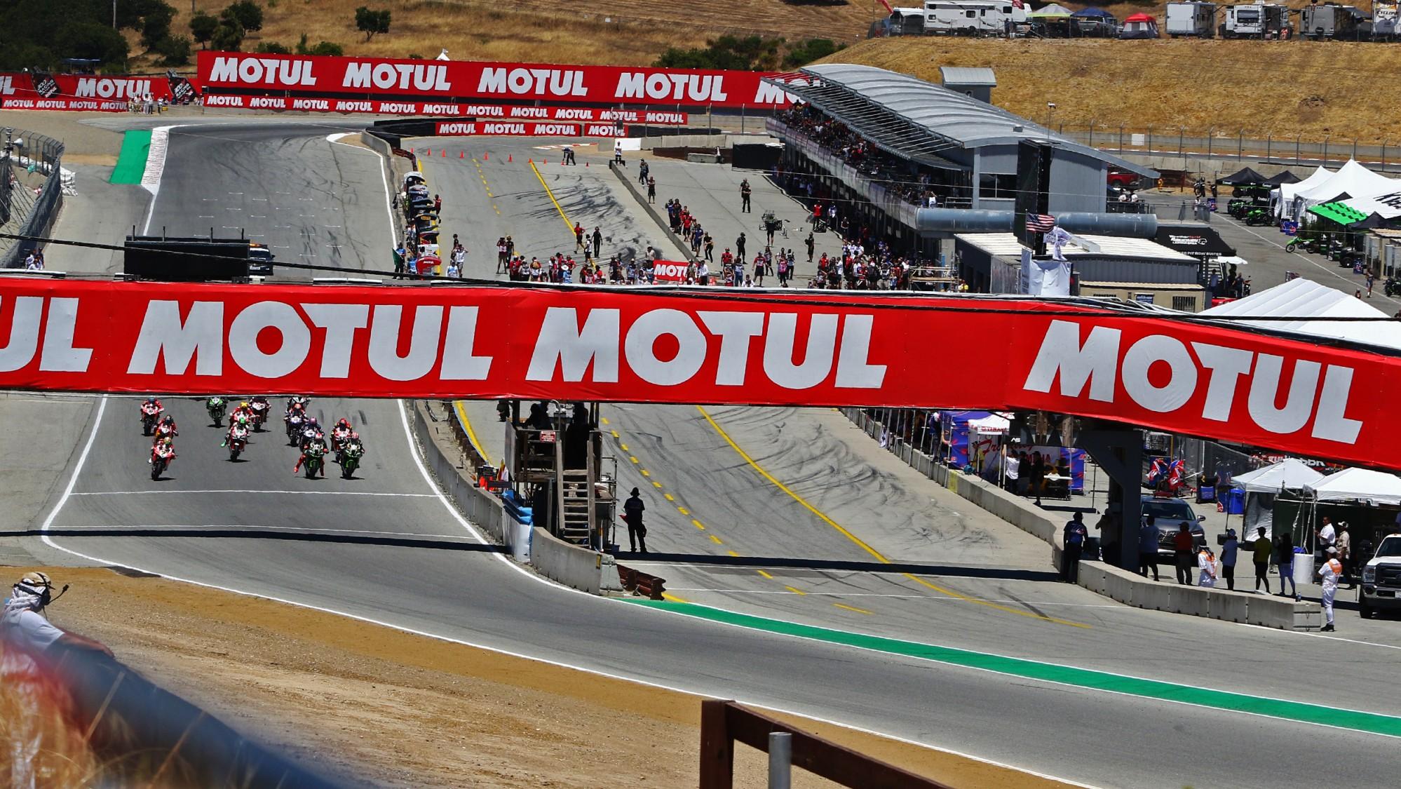 Sky Sport MotoGP e TV8, Diretta SuperBike Round Laguna Seca (13 e 14 Luglio)