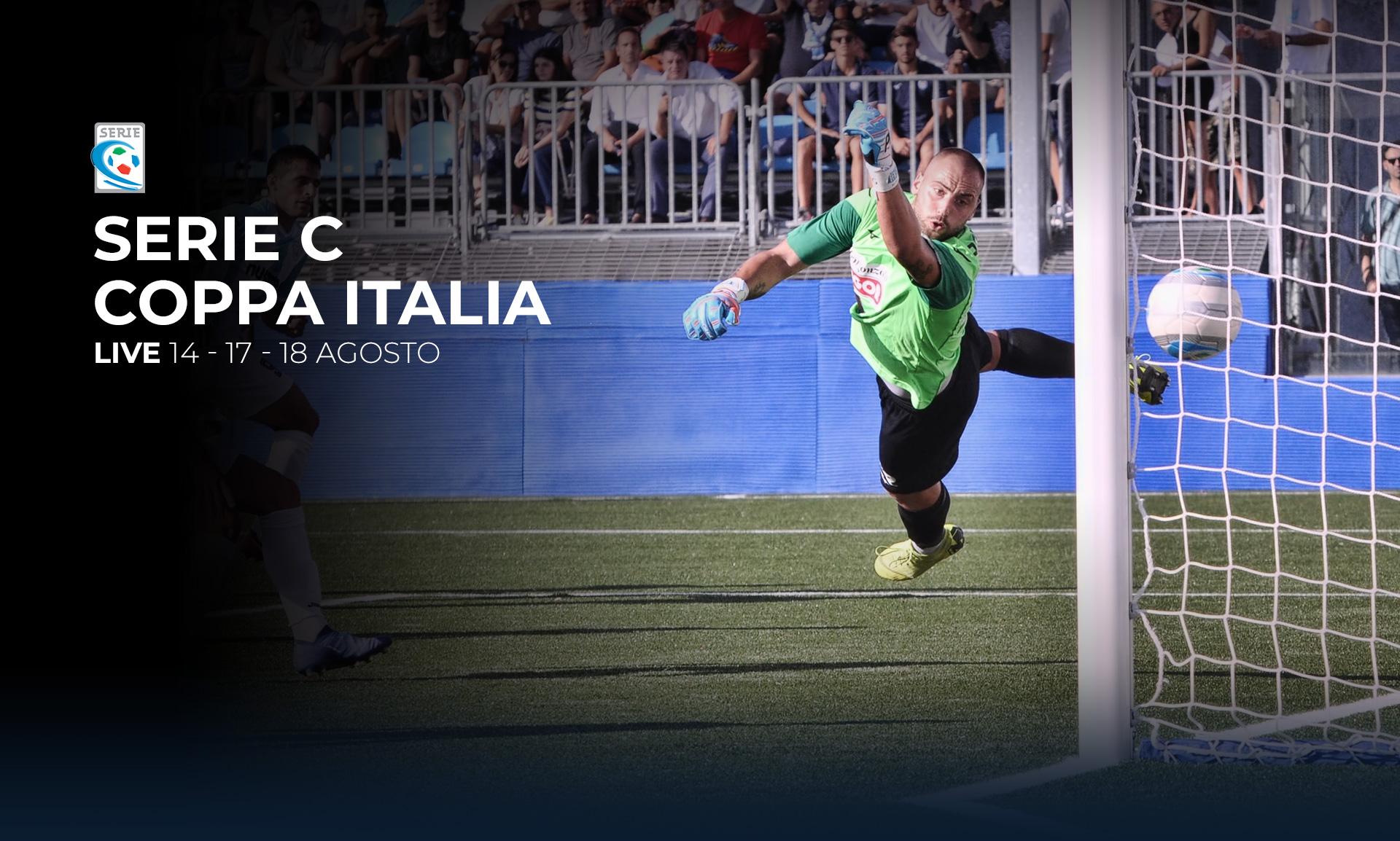 Serie C TV, Coppa Italia 17 e 18 Agosto - Programma e Telecronisti Eleven Sports