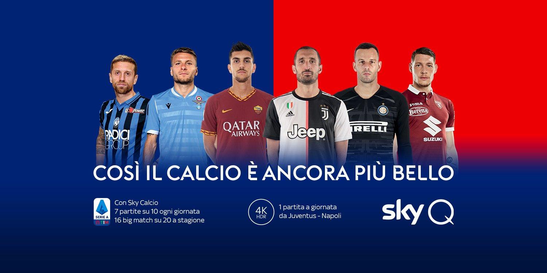 Sky Sport Serie A 1a Giornata, Diretta Esclusiva | Palinsesto e Telecronisti