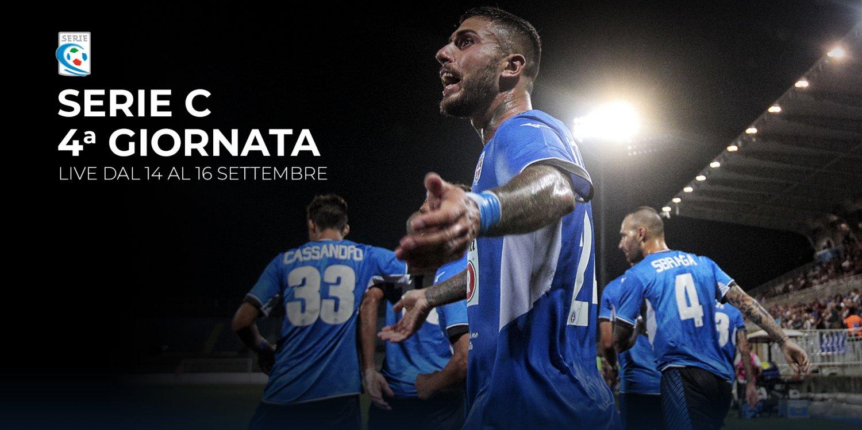Serie C TV, 4a Giornata  - Programma e Telecronisti Eleven Sports