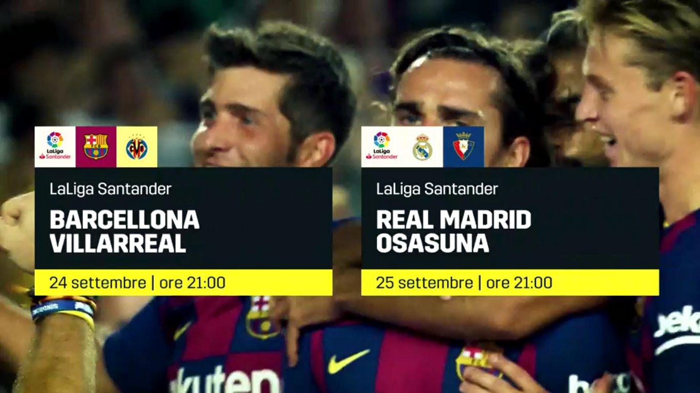 Calcio Estero DAZN, Programma e Telecronisti 24 - 26 Settembre 2019