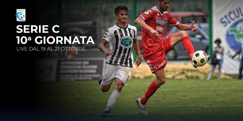 Serie C TV, 10a Giornata  - Programma e Telecronisti Eleven Sports