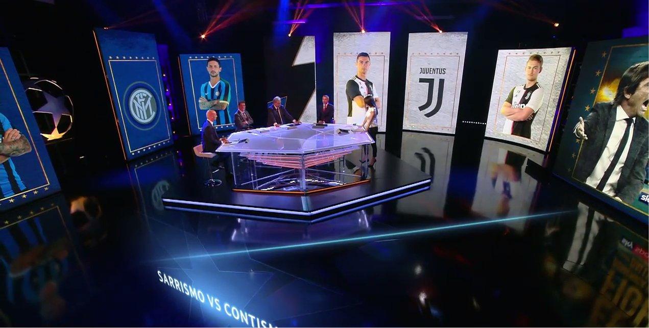 Sky Sport Diretta Champions #3, Palinsesto e Telecronisti Juventus, Inter, Napoli, Atalanta