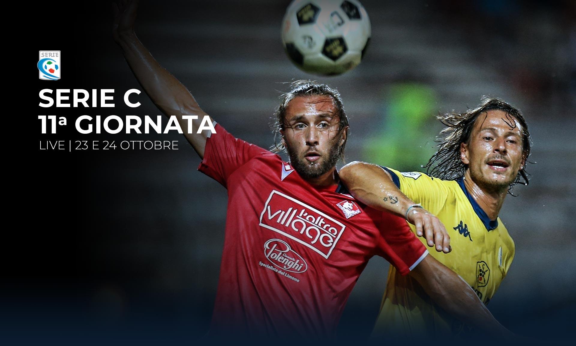 Serie C TV, 11a Giornata  - Programma e Telecronisti Eleven Sports