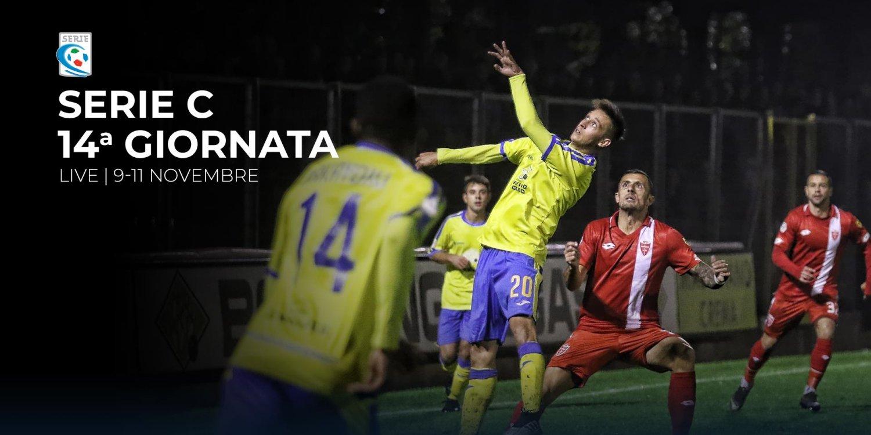 Serie C TV, 14a Giornata  - Programma e Telecronisti Eleven Sports