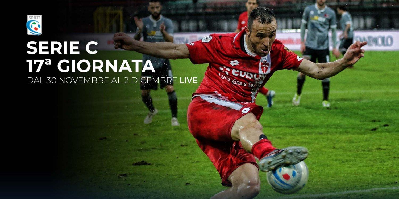 Serie C TV, 17a Giornata  - Programma e Telecronisti Eleven Sports