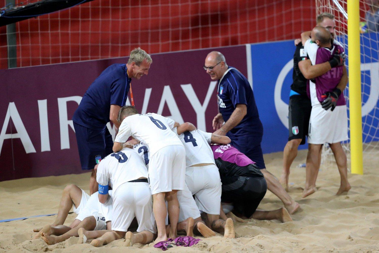 Sky Sport Mondiale Beach Soccer (diretta) Semifinali - Palinsesto e Telecronisti