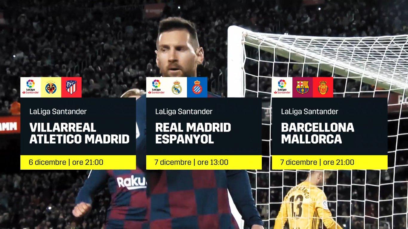 Calcio Estero DAZN, Programma e Telecronisti 6 - 8 Dicembre 2019