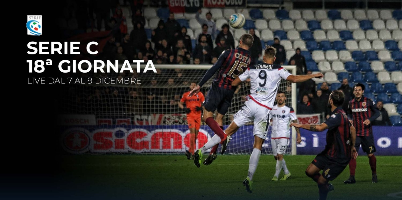 Serie C TV, 18a Giornata - Programma e Telecronisti Eleven Sports