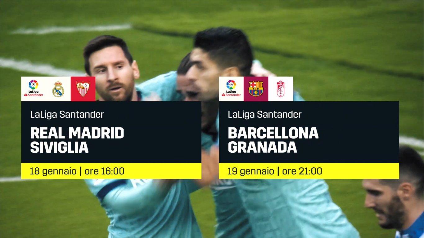 Calcio Estero DAZN, Programma e Telecronisti 17, 18 e 19 Gennaio 2020