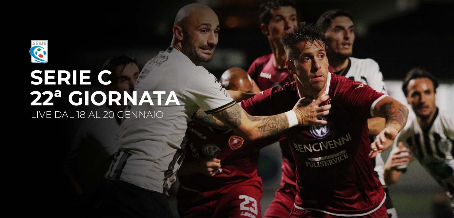 Serie C TV, 22a Giornata - Programma e Telecronisti Eleven Sports