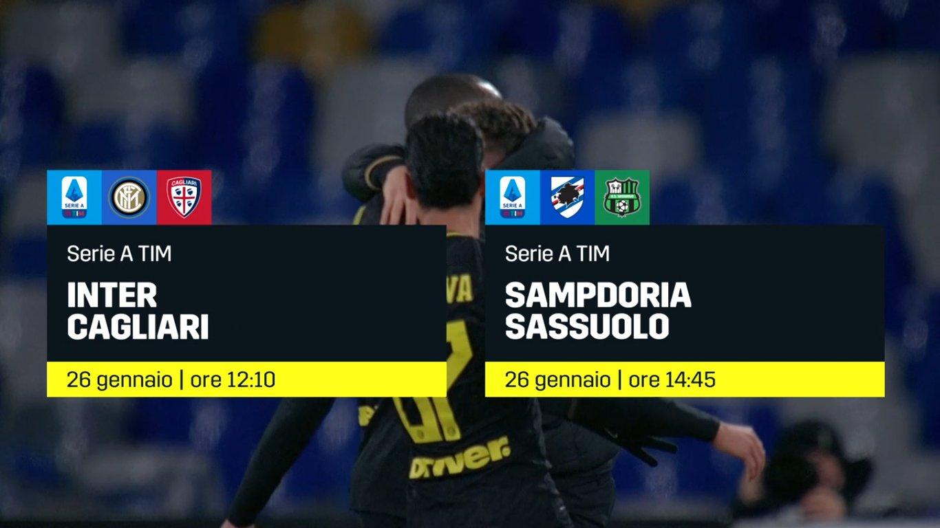 DAZN Serie A 21a Giornata, Diretta Esclusiva | Palinsesto e Telecronisti (Sky 209)