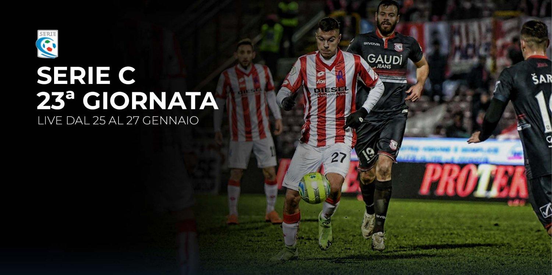 Serie C TV, 23a Giornata - Programma e Telecronisti Eleven Sports