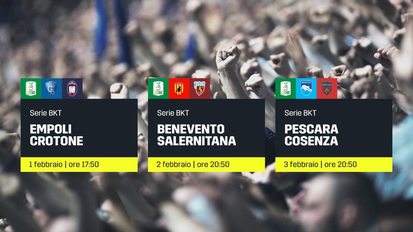 DAZN Serie B 22a Giornata - Diretta Esclusiva | Palinsesto e Telecronisti