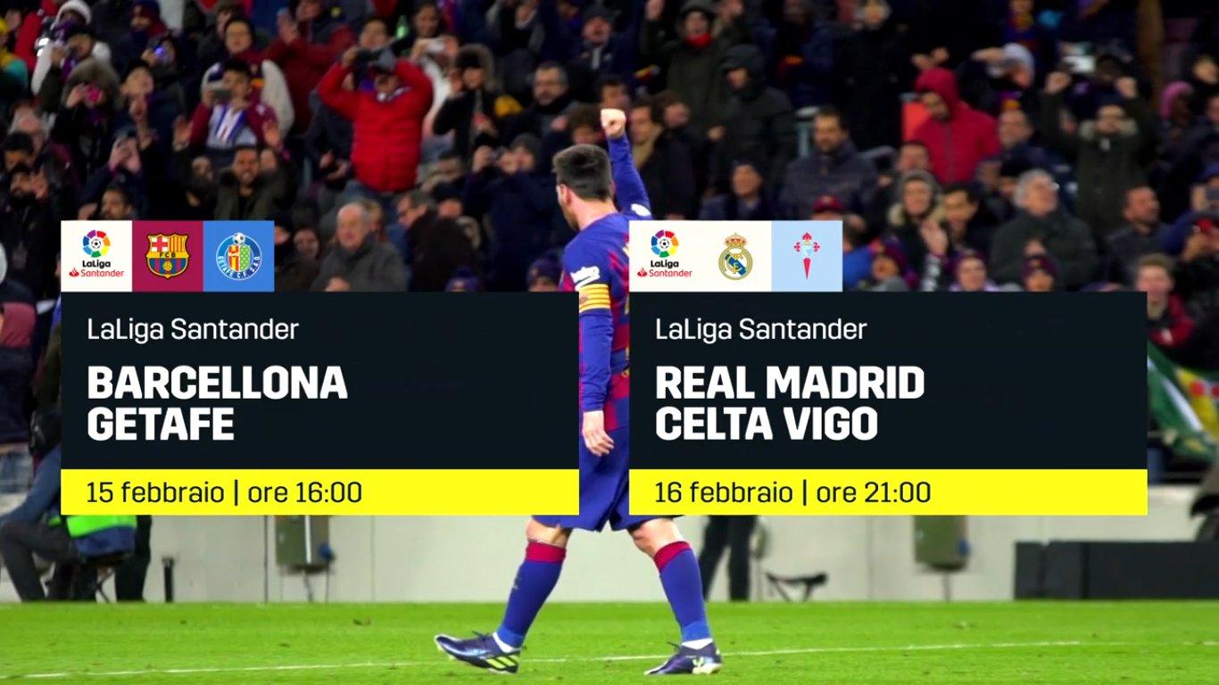 Calcio Estero DAZN, Programma e Telecronisti 14 - 16 Febbraio 2020