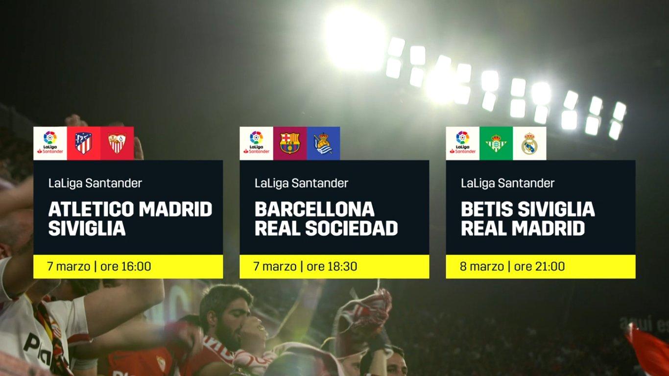 Calcio Estero DAZN, Programma e Telecronisti 6 - 8 Marzo 2020
