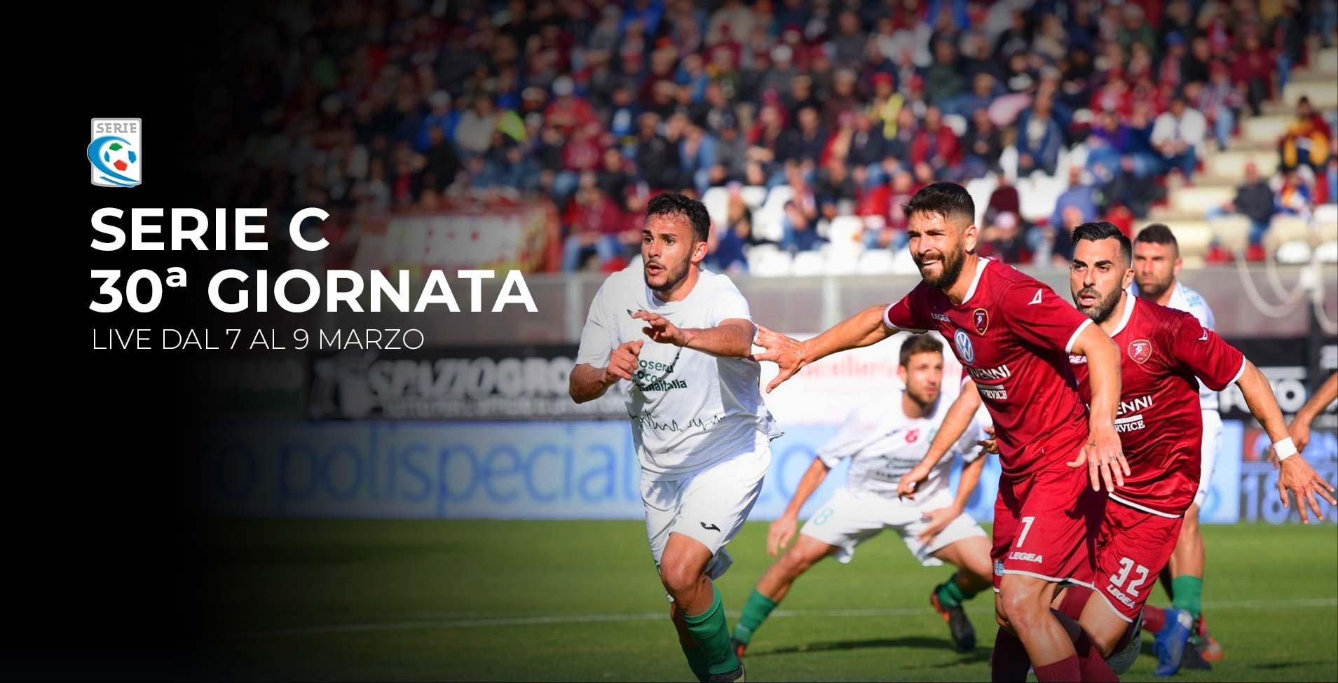 Serie C TV, 30a Giornata  - Programma e Telecronisti Eleven Sports