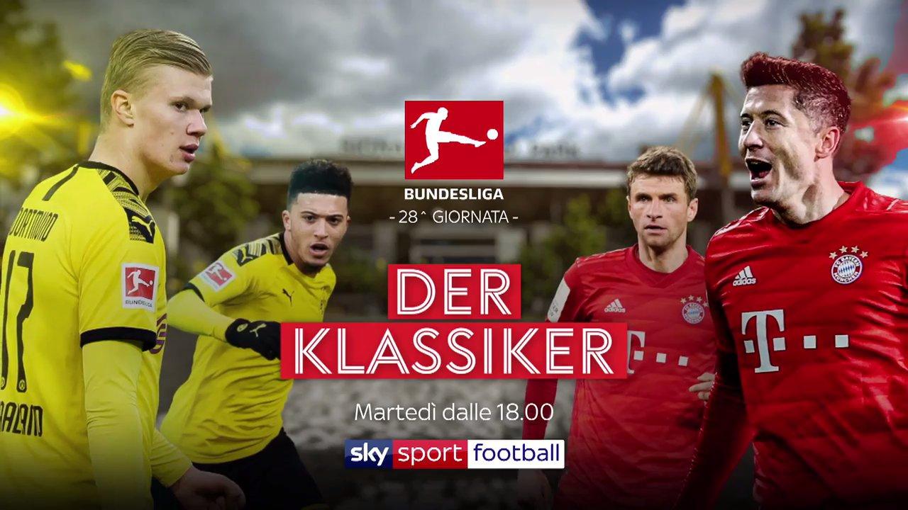 Calcio Estero Sky Sport, Diretta Gol Bundesliga | Palinsesto e Telecronisti 28a Giornata
