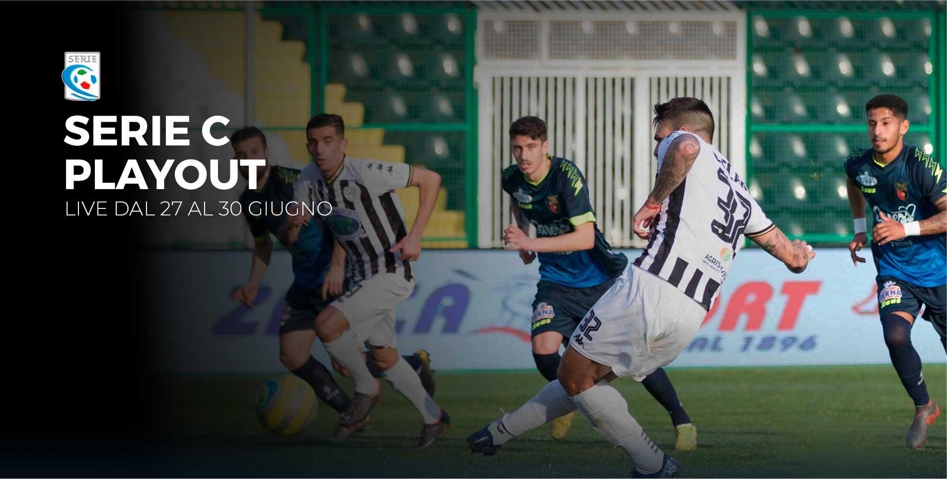 Serie C TV, Playout Andata e Coppa Italia  - Programma e Telecronisti Eleven Sports