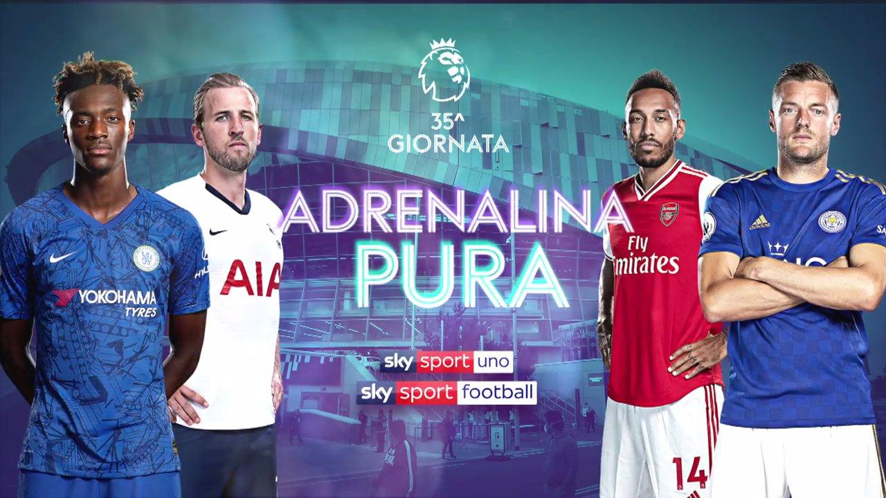 Calcio Estero Sky Sport, Premier League | Palinsesto e Telecronisti 35a Giornata