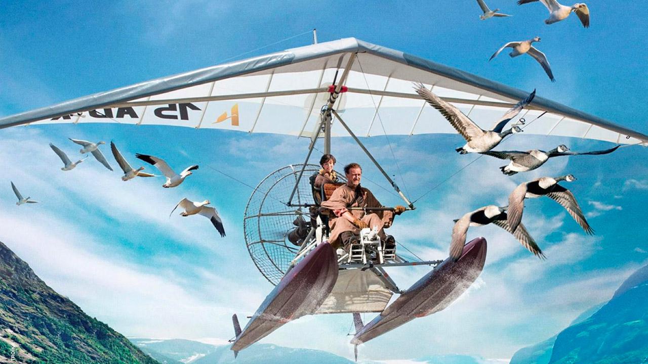Venerdi 24 Luglio 2020 Sky Cinema HD, Sulle ali dell'avventura