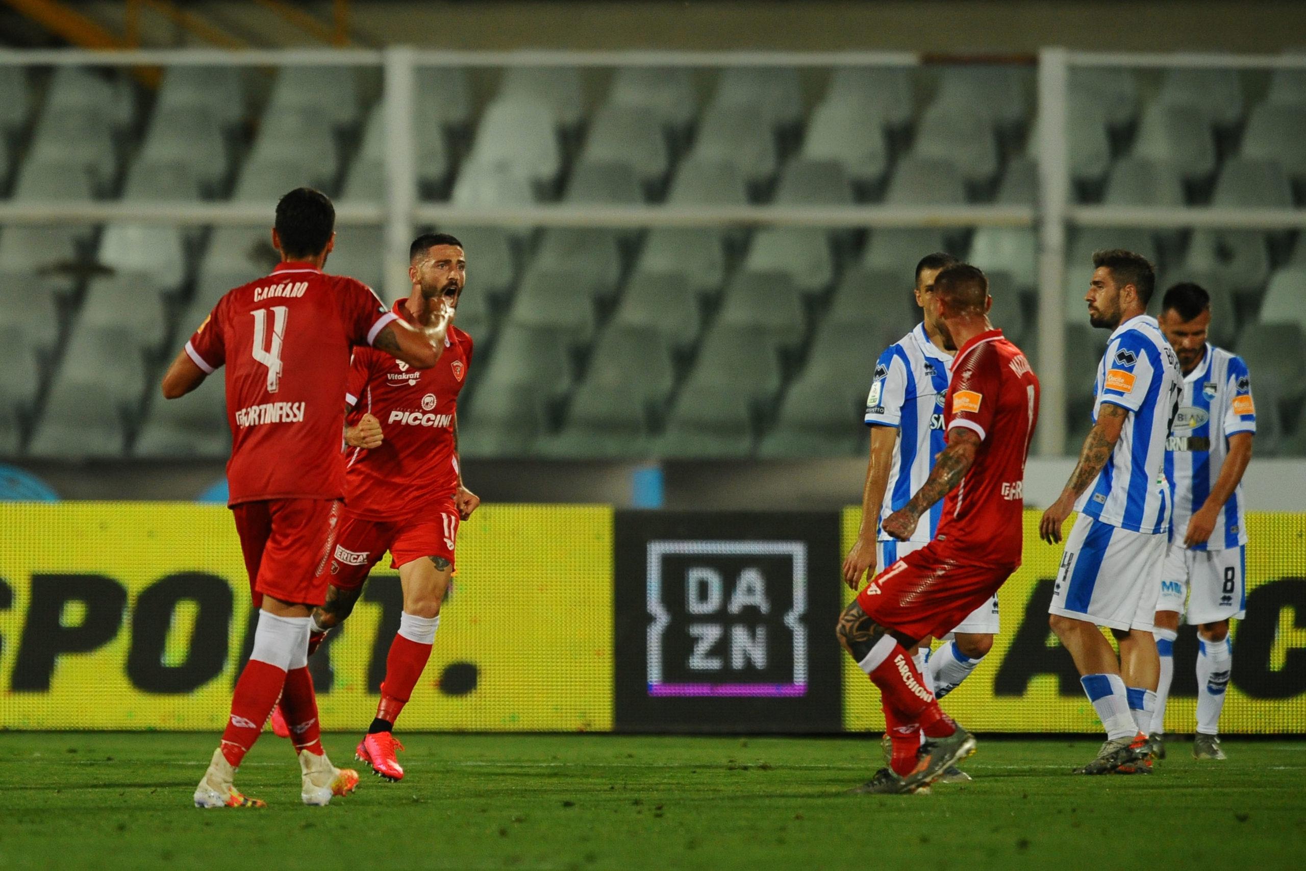 DAZN Serie B Play Out, Diretta Esclusiva Pescara - Perugia | Palinsesto e Telecronisti