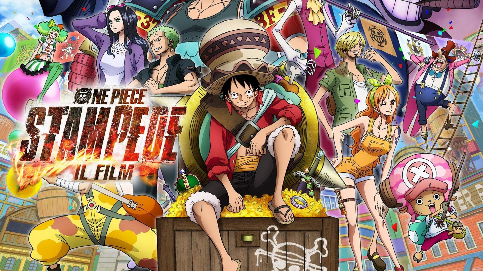 Sabato 15 Agosto 2020 Sky Cinema HD, One Piece: Stampede - Il film