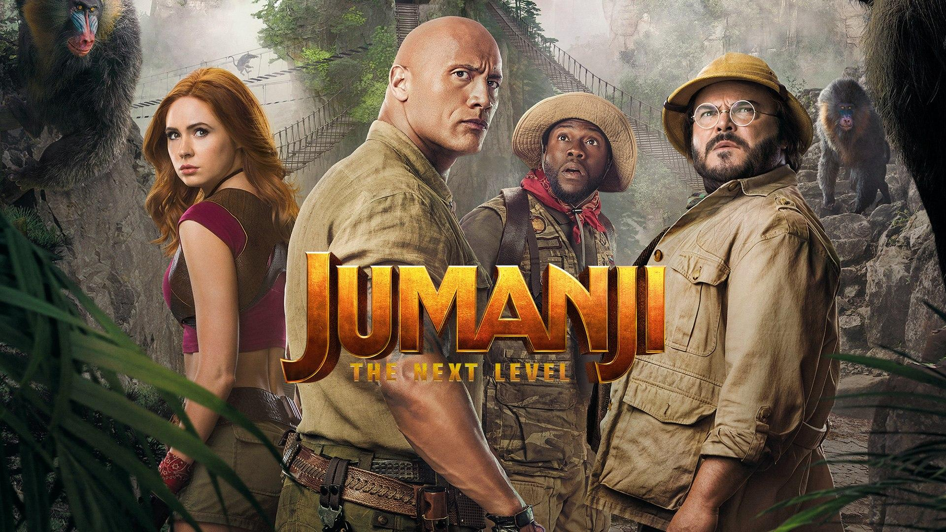 Lunedi 31 Agosto 2020 Sky Cinema HD, Jumanji - The Next Level