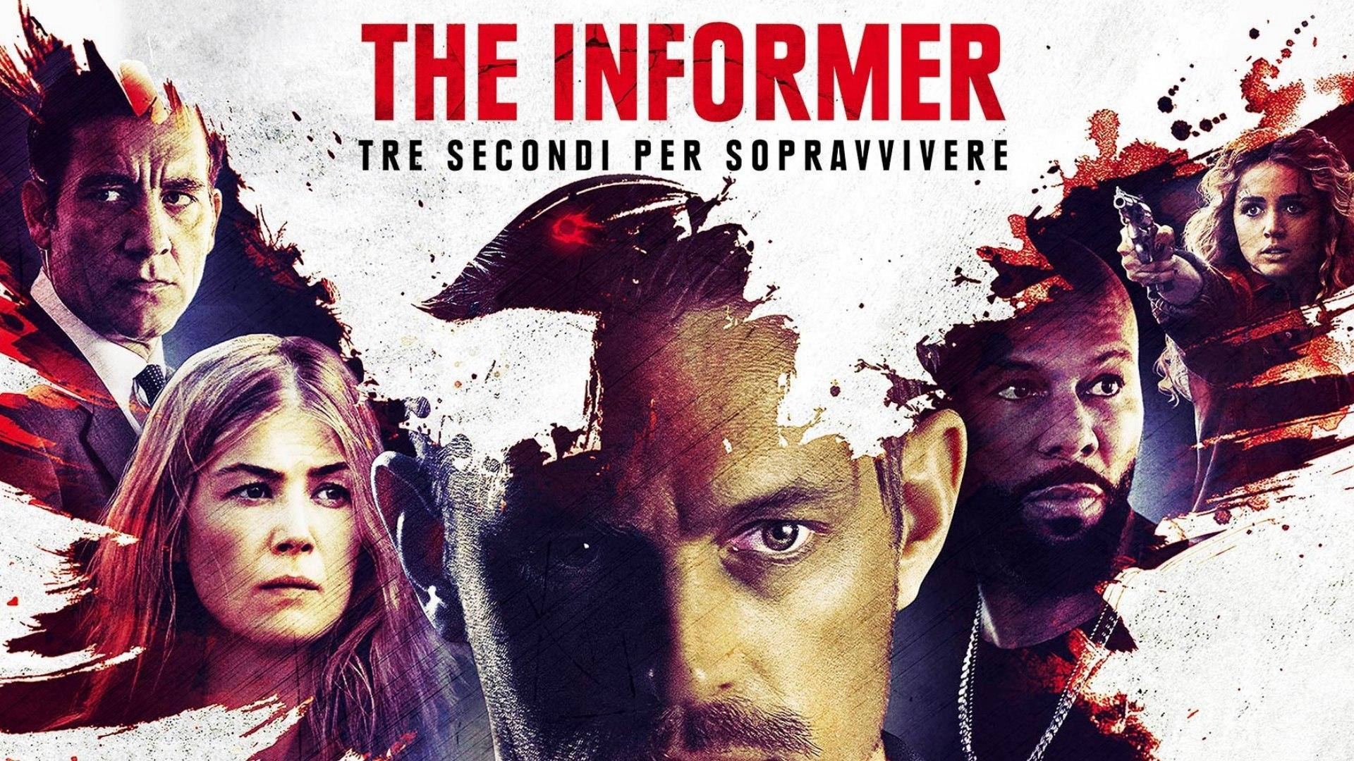 Venerdi 18 Settembre 2020 Sky Cinema HD, The Informer