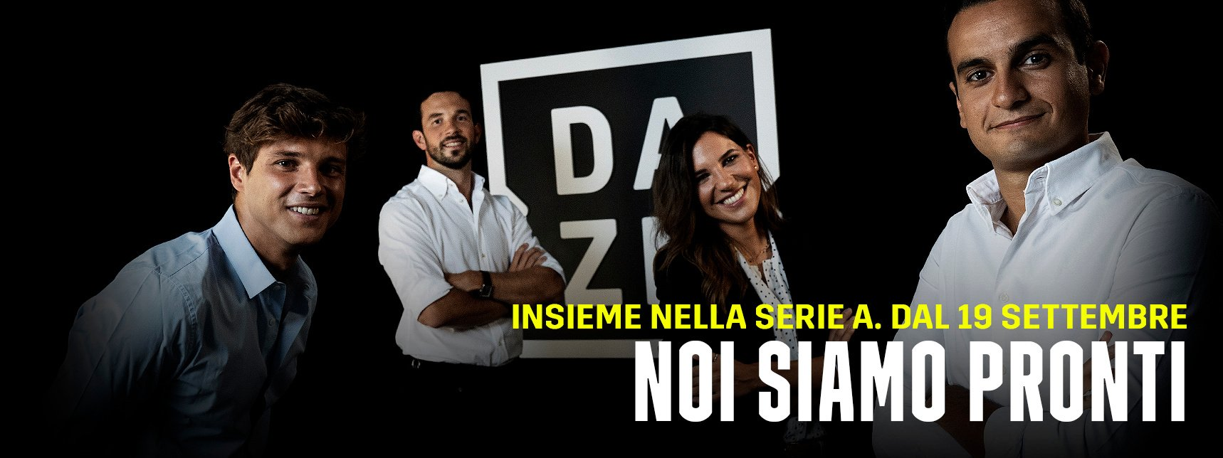 DAZN Serie A 1a Giornata, Diretta Esclusiva | Palinsesto Telecronisti (Sky 209)