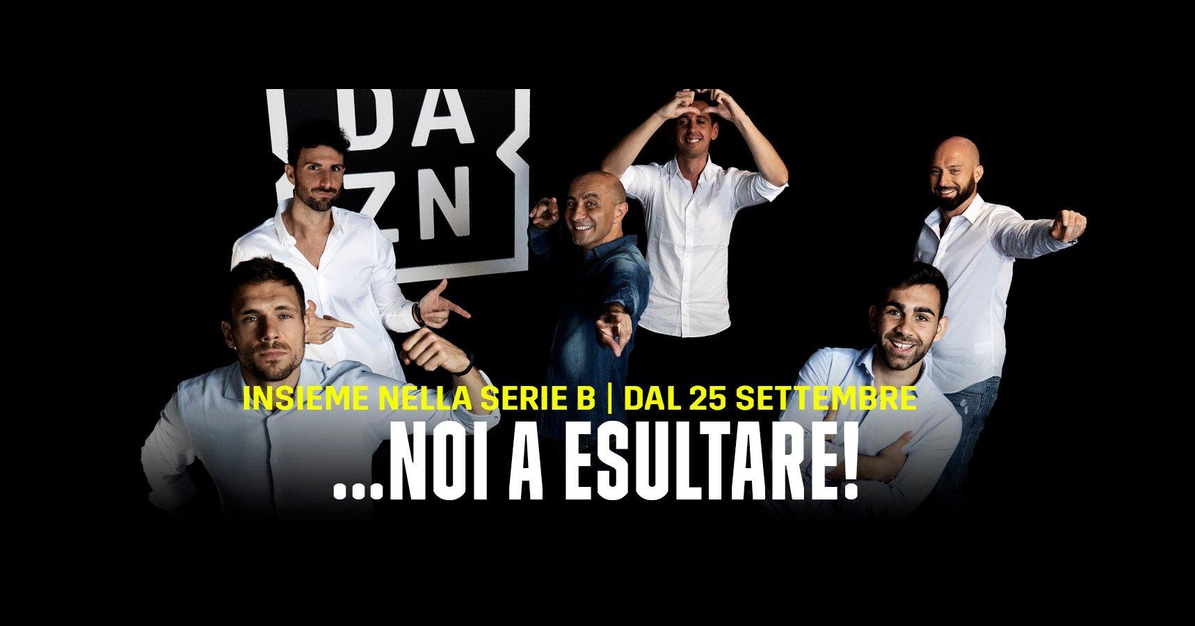 Serie B DAZN 1a Giornata - Diretta Esclusiva | Palinsesto e Telecronisti