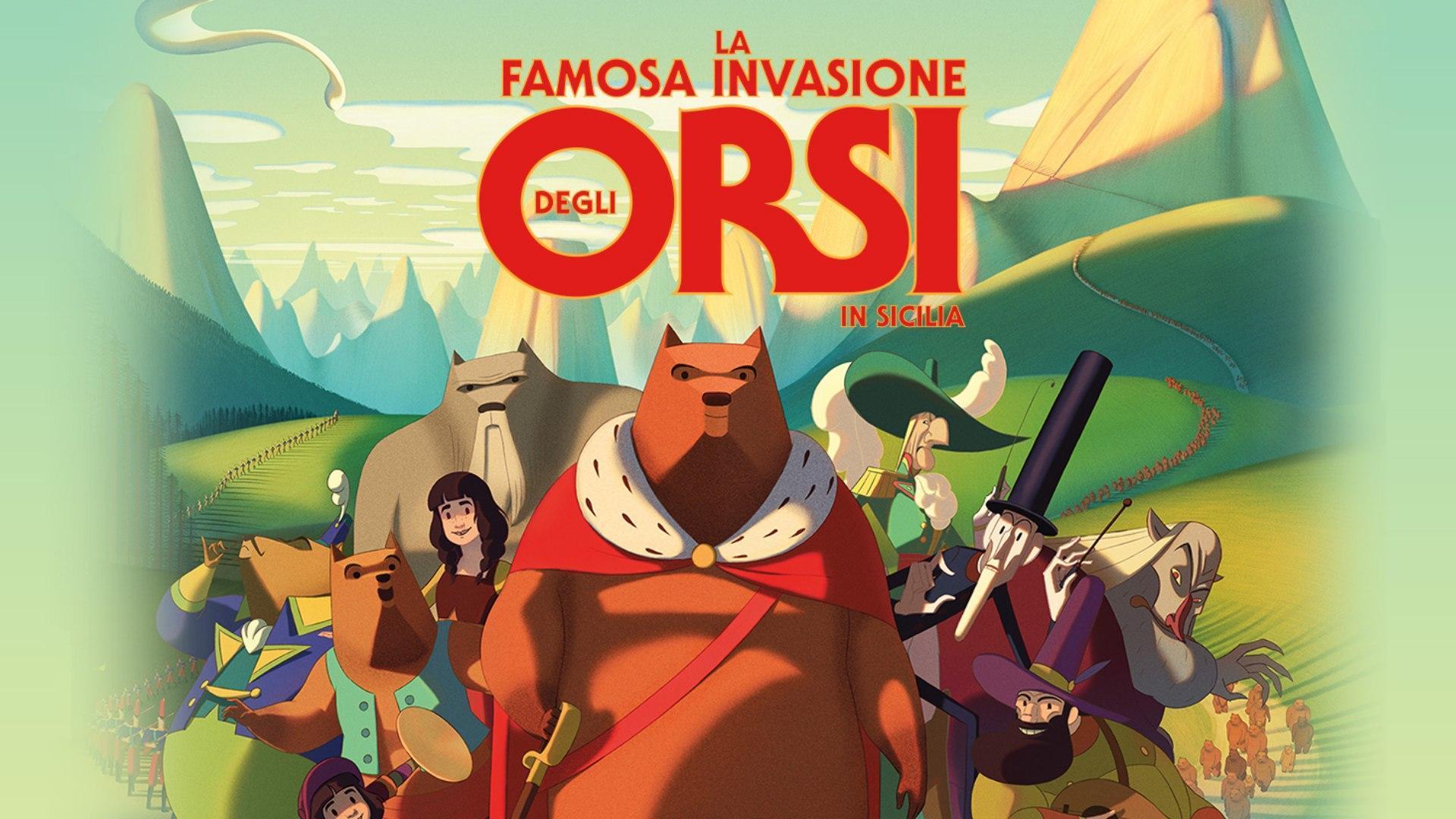 Sabato 17 Ottobre 2020 Sky Cinema HD, La famosa invasione degli orsi in Sicilia