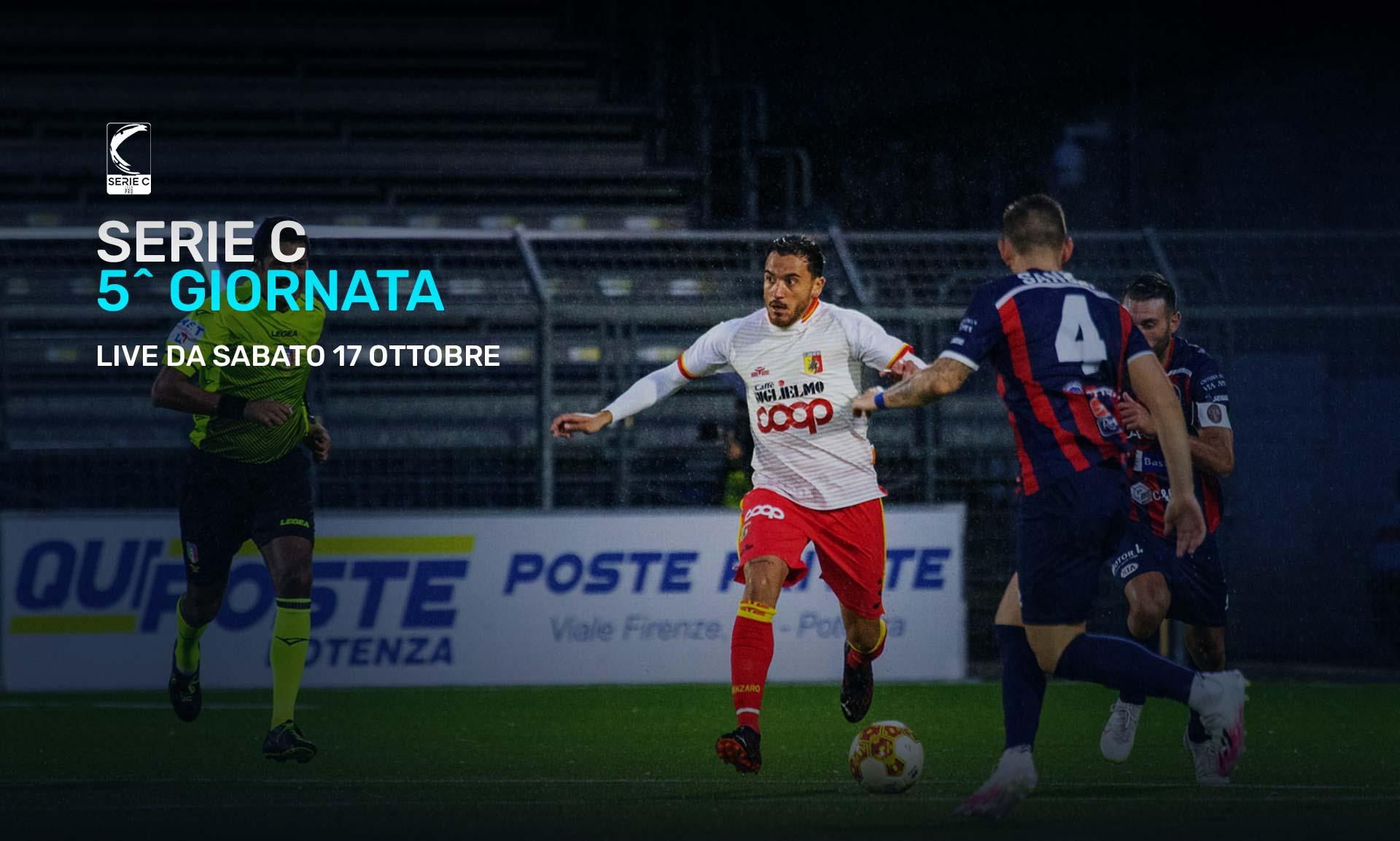 Serie C Eleven Sports, 5a Giornata - Programma e Telecronisti Lega Pro