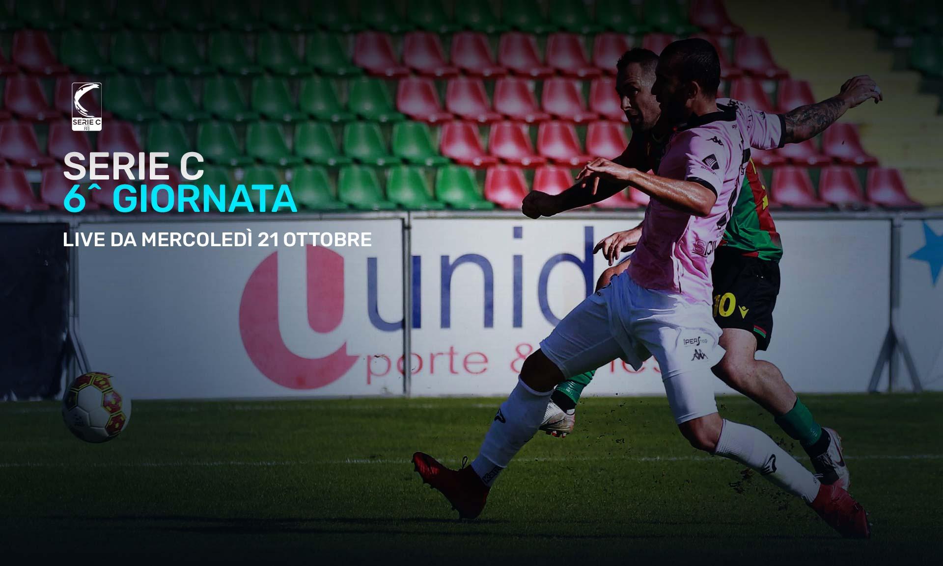 Serie C Eleven Sports, 6a Giornata - Programma e Telecronisti Lega Pro